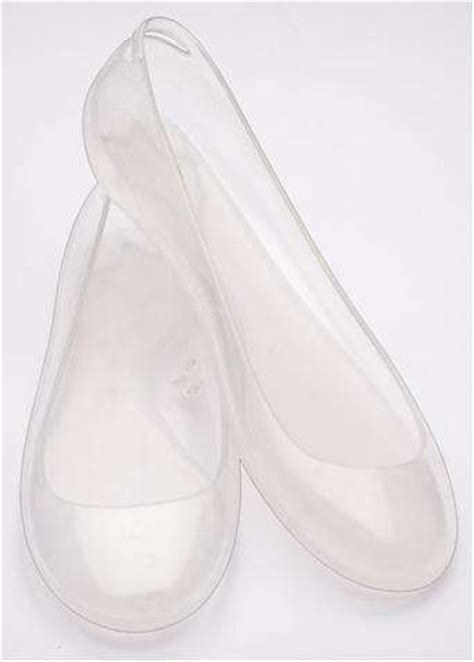 glass slipper flats wearable cinderella shoes plastic flats from kartell and