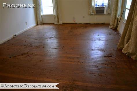 taking up carpet from hardwood floors goodbye green carpet hello original hardwood floors