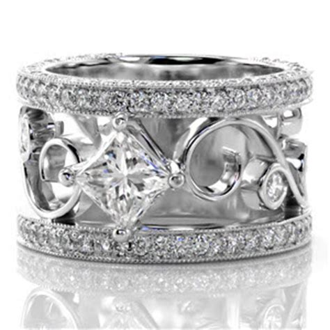 wide wedding ring jewelers