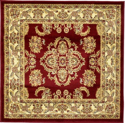 Asian Area Rug Traditional Medallion Area Rug Bordered Classic Rugs Ebay