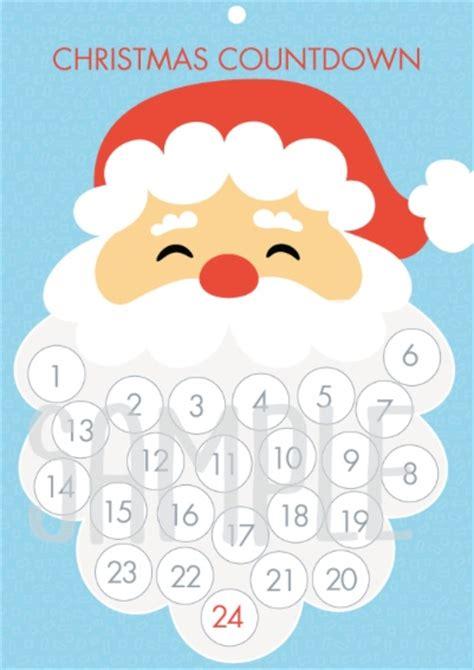 free santa christmas countdown advent calenda mum s lounge