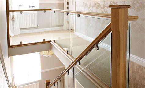 how to remove stair banister remove replace with glass for transitional look neville