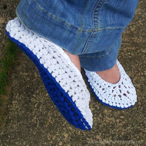 crochet pattern t shirt yarn t shirt yarn crochet slippers look at what i made