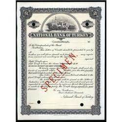 Bank Letter Of Credit For Auction National Bank Of Turkey Letter Of Credit Specimen Archives International Auctions