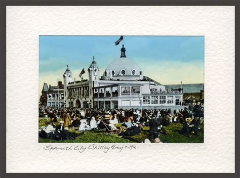 live at the roof gardens presents lots holloway 20 october whitley bay city c 1910 a real photo card ref