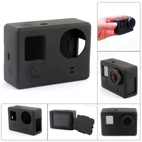 Casing Gopro 3 cat cs 4 protective shell for gopro 4 3 3 black free shipping dealextreme