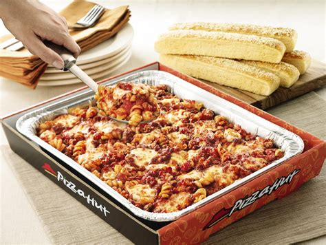 Pizza Hut Is Now Pasta Hut Or Is It by Meaty Marinara Tuscani Pasta