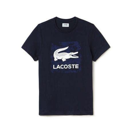 T Shirt Lacoste It 0 2 s sport tennis print technical jersey t shirt lacoste