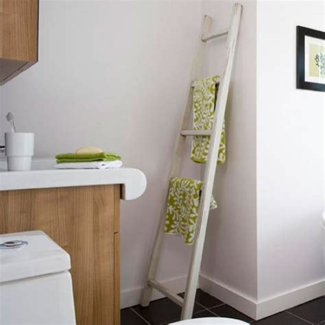 Modern Bathroom Towels Towel Ladder Modern Bathroom Makeover Housetohome Co Uk