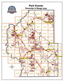 park county township and range map colorado counties