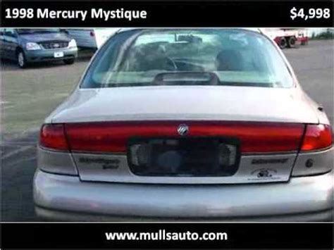 online car repair manuals free 1998 mercury mystique user handbook 1998 mercury mystique problems online manuals and repair information