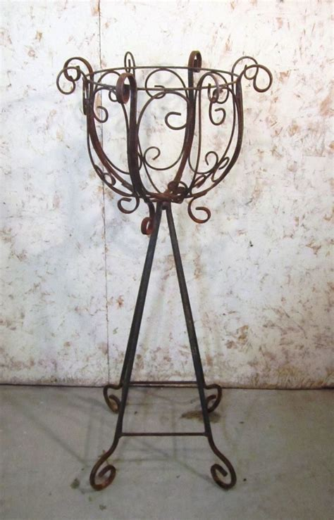 Wrought Iron Stand Wrought Iron Plant Stand