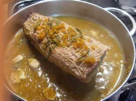 come si cucina il rosbif di vitello arrosto di vitello con sedano e carote