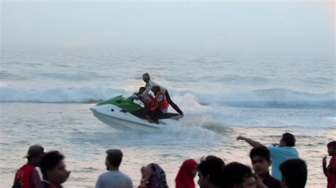 speed boat driving speed boat ride on beach in cox s bazar speed boat