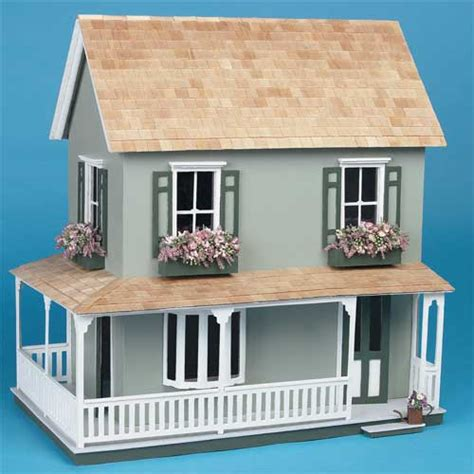 wood doll house kit the laurel wooden dollhouse kit at best price toys