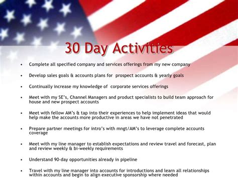sle business plan recreation center 30 60 90 day sales plan 30 60 90 day plan pinterest 30th
