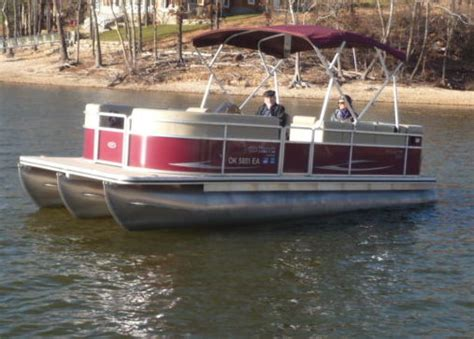 tritoon boats for sale in oklahoma pontoon boats for sale in grove oklahoma
