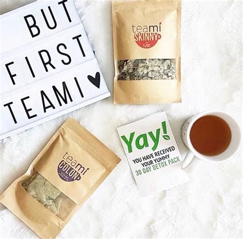 Teami Blends 30 Day Detox by Teami Blends 30 Days Detox Tea Pack Beautybyfrieda