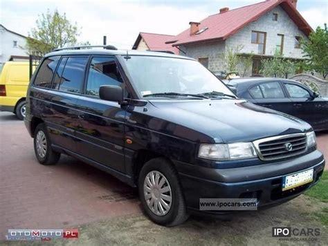 old car manuals online 2000 mazda mpv electronic toll collection 2000 mazda mpv 2 5 tdi air igla aso 7 osob car photo and specs