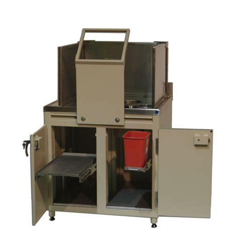 cabinet for nuclear medicine with legs radiation