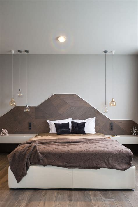 Bedroom Headboards Designs Headboard Design Idea Create A Landscape Design From Wood Contemporist