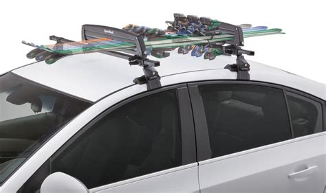 Ski Rack Sports by Sportrack Ski And Snowboard Carrier Roof Mount Locking