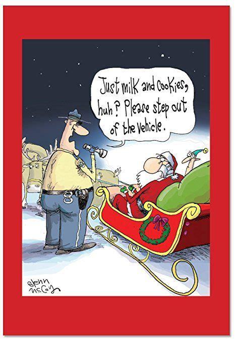 bxsg box set   santa dui funny christmas cards  envelopes witty christmas quotes