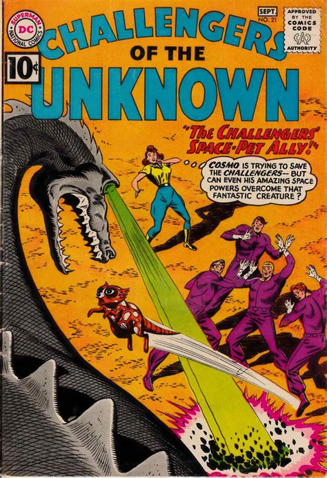 challengers of the unknown challengers of the unknown 21 dc comic