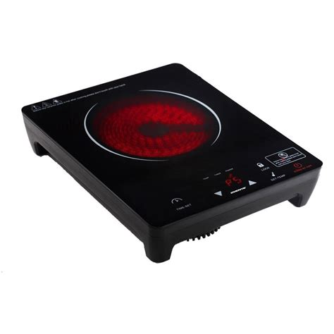 What Is A Ceramic Stove Top by Portable Ceramic Infrared Cooktop Single Burner Kitchen