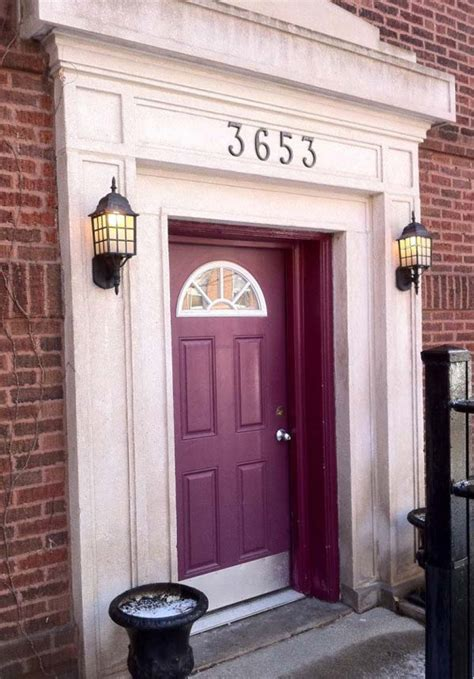 bold  beautiful colored front doors
