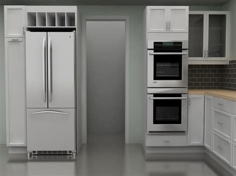 kitchen cabinet for wall oven above fridge wine rack ikea small kitchens ikea kitchen