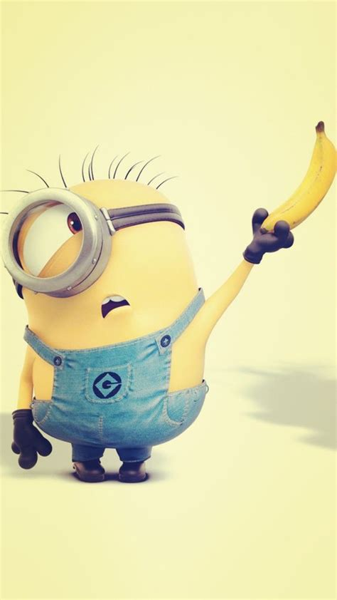 wallpaper banana for iphone despicable me inspired yellow minion and banana iphone 6