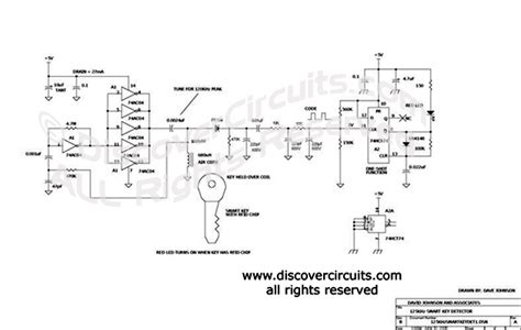 circuit wireless rfid smart key detector design hobby