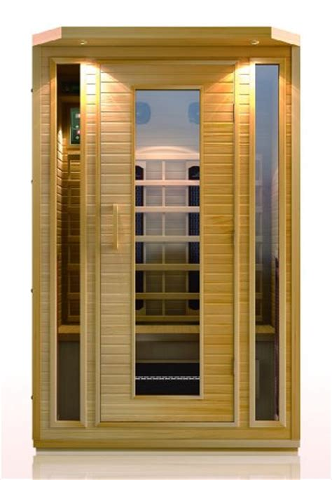 Doctor Detox Infrared Sauna by Bloggang Dmt2010 2 Person Sauna Hemlock Ceramic