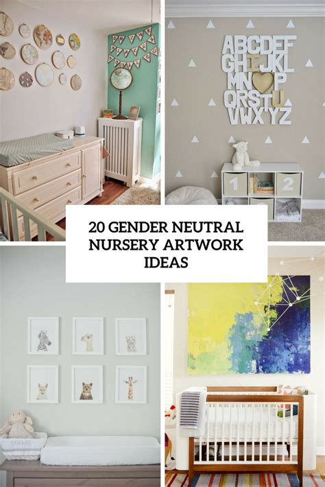 Gender Neutral Nursery Decor 20 Gender Neutral Nursery Artwork Ideas Shelterness