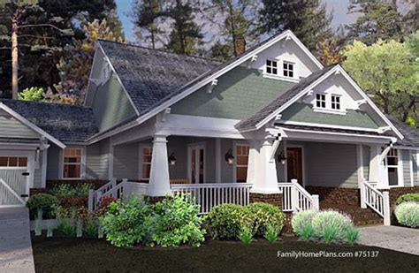 craftsman style home plans craftsman style house plans