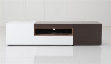Italian Design Kitchen Cabinets Contemporary 2 Tone Tv Entertainment Unit Irvine