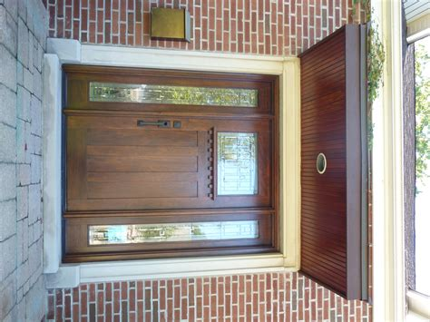 Front Door Refinishing Hiding This Beautiful Wood Grain Why Painting In Partnership