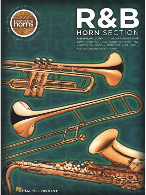 horn sections sheet music randb horn section transcribed horns
