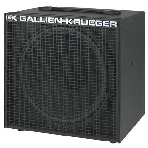 12 inch bass cabinet gallien krueger 100w 8ohm 1x12 inch cabinet