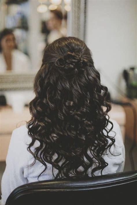 prom hairstyles down black we this moncheribridals com halfuphalfdownhair
