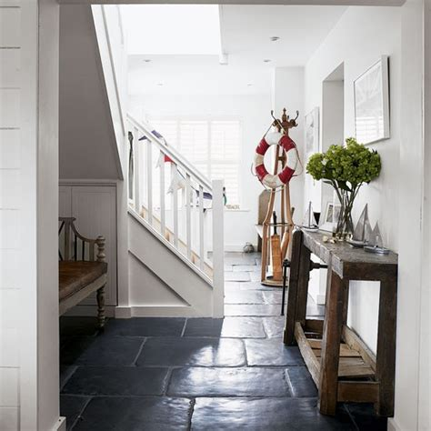 the country style country hallway with lifebuoy feature west sussex