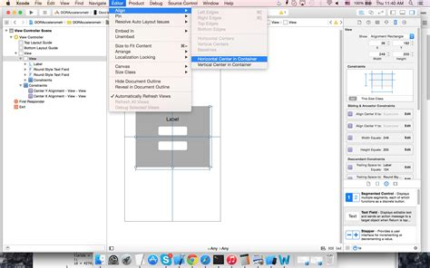 auto layout tutorial xcode 6 objective c how to apply auto layout to a group of items in xcode