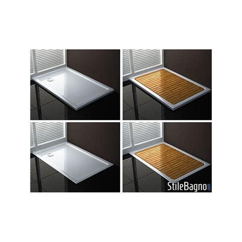 piatto doccia 110x70 piatto doccia rettangolare ultraflat in acrilico sanitario