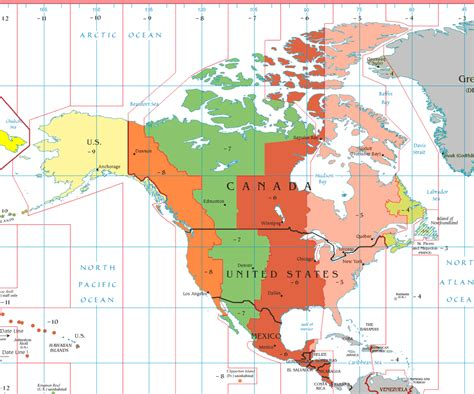 us mexico time zones map mountain time zone