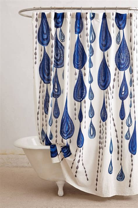 anthro shower curtain the latest in shower curtain trends