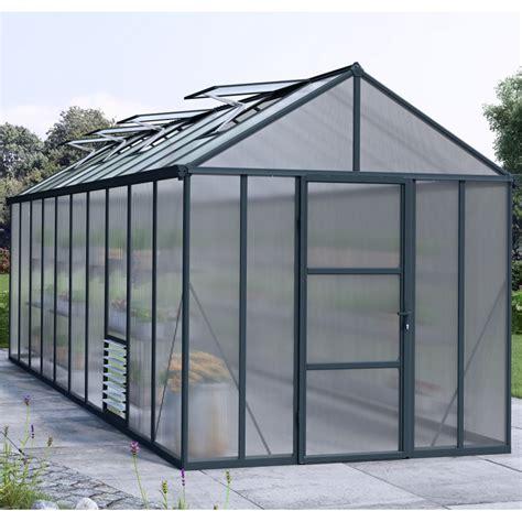 serre de jardin polycarbonate 1989 serre de jardin 14 7m 178 en polycarbonate 10mm premium