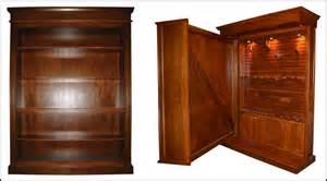 Custom Armoire Cabinet In Plain Sight Custom Gun Storage Furniture 1