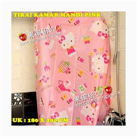 toko jual wallpaper hello kitty tirai hello kitty holidays oo