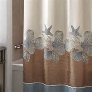 croscill shells ashore shower curtain